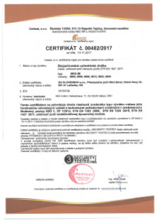 Certificate 3 - Hisec